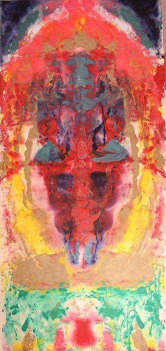 Abstract Ganesha by Brian c Baker